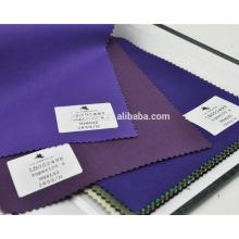 Lã de lycra luz high-end tecido terno roxo para serviço de estoque