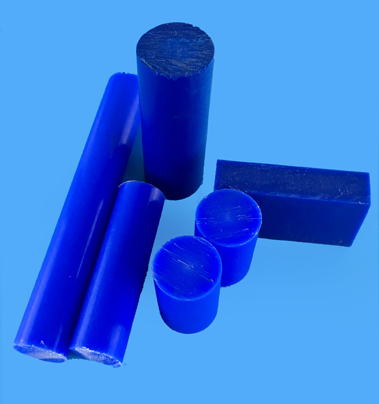 Blue Polyamide Rod