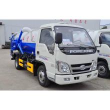 Tout nouveau mini camion aspirateur Forland 2m³