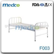 Estrutura de cama plana plana de aço inoxidável Wholley de baixa qualidade F003