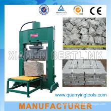 Máquina de corte de bloco de pavimentação hidráulica para rocha