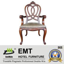 Star Hotel European Style Wooden Chair Designs (EMT-AP023-807)