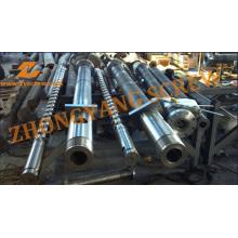 Barril de tornillo de la máquina del moldeo a presión de los PP de 100m m