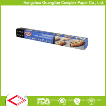 Rollo de papel de la hornada a prueba de calor certificado por la FDA 40GSM