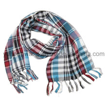 Moda de algodón tejido bufanda