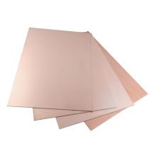 Feuille de stratifié plaqué cuivre flexible Fr4