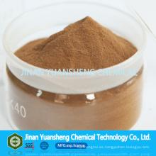 Polvo Lignin Tech pulpa de madera Sodium Lignosulfonate