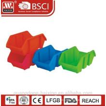 Plasitc stackable utility basket(1pc)