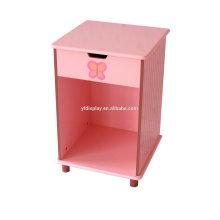 Neues Design und heißer Verkauf rosa Farbe Holzkiste