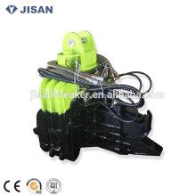 Marteau vibratoire hydraulique de palplanche de haute longévité de haute fréquence pour la pelle de 20 tonnes