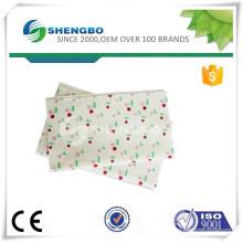 Paño de limpieza impreso con logo / tejido no tejido con punta de aguja