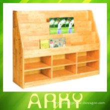 School Wooden Storage Shelf