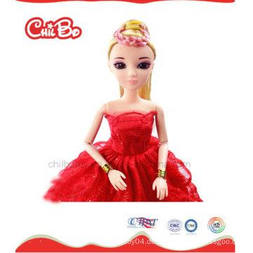 China Spielzeug-Fabrik 32 Cm Barbie-Puppe Personalisierte Hochzeit