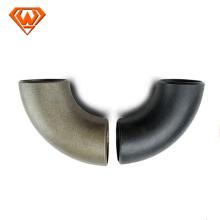 Coudes soudés sans couture de garnitures de tuyau d'acier au carbone