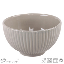 13.5cm Embossed with Stripe Cereal Bowl