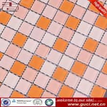 China-Großhandelsschwimmbaddesignfliese mischte Glasmosaikfliese