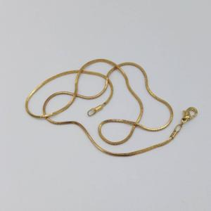Wholesale Golden Plated Copper Snake Chain