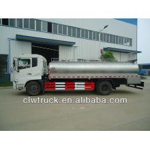 Dongfeng Tianjin 12t transporte de leche camión cisterna