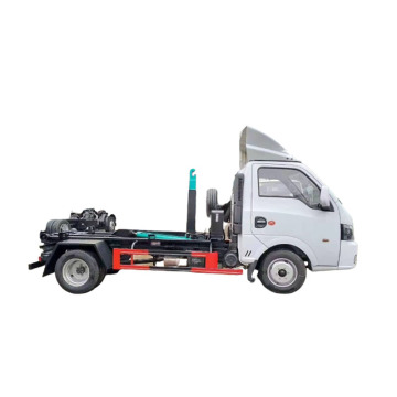 Mini Waste Collector Hook Arm Lift Garbage Truck