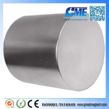 N48 Qualität D76.2X76.2mm Neodym-Zylinder-Magnet
