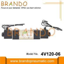 1/8'' BSPT 4V120-06 Solenoid Pneumatic Valve 24VDC 220VAC