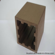 Coluna WPC Decking de madeira WPC Decking composto plástico