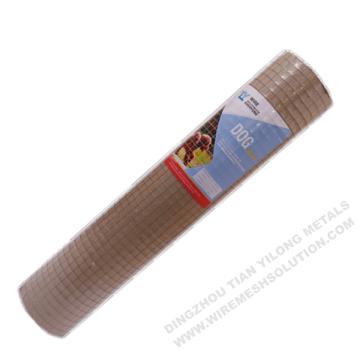Malla de alambre soldada galvanizada de 2 '' x 2 ''