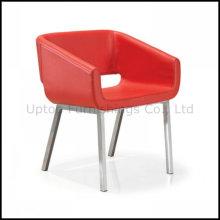 Благородный Красный кожаный ждет номер в отеле кресло (СП-HC095)
