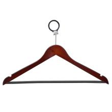 Роскошная европейская вешалка для одежды Wooden Hotel Hanger