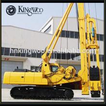 La construcción de edificio y birdge utiliza una perforadora de pilotes hidráulica completa