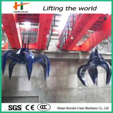Hydraulic Grab Overhead Bridge Crane for Garbage