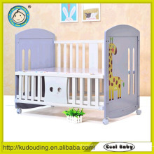 Good quality new design baby simple design wooden bed