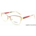 2018 new fashion metal optical eyeglasses frame for girls