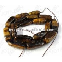 Perlas de piedras preciosas Tigereye