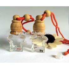 Flacon de parfum suspendus en forme d'étoile de 5 ml pour diffuseur