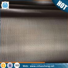 Malla de alambre de acero inoxidable súper de 200 micras por material 904L en un entorno de alta resistencia a la corrosión
