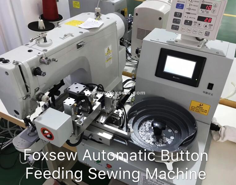 Automatic Button Feeding Device Fx 378c0
