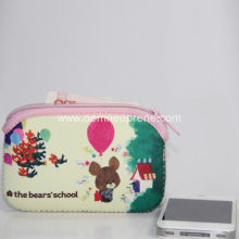High Quality Neoprene Coin Bags With Zipper