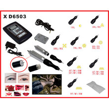 Professional Cosmetic Makeup Tattoo Machine Kit for Eyebrow