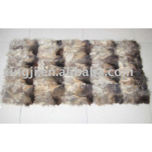 Raccoon Dog Fur Front Leg Plate