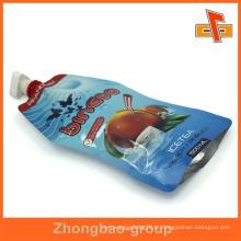 OEM resealable plástico saco de sabão líquido 200ml
