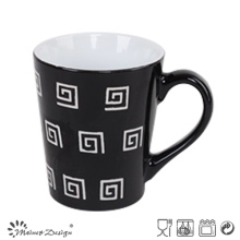 12oz Black Ceramic Coffee Mug Cheap Price
