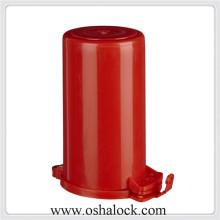 Étiquette de verrouillage des vannes de cylindre