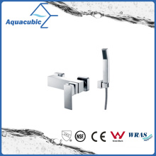 Wall Mount Single Handle Shower Faucet with Hand Shower (AF6028-4)