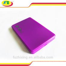 2.5 Caja plástica del USB 2.0 SATA HDD