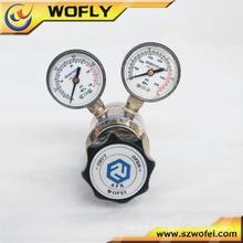 Regulador de pressão de gás natural / água de aço inoxidável