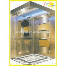 Aço inoxidável mrl elevador de passageiros