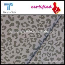 heiße Selin Leopard Muster sexy Druck 97 3 Spandex Baumwolltwill weben Spanntuch für slim pants