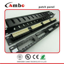 Made In China Best Price modular patch panel 24 port With Cover,For Shielding Function