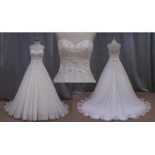 China Factory Sample Style Designer Bridal Wedding Dress